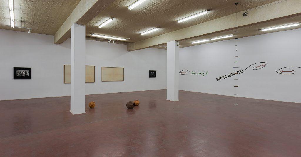 NOWWHERE, 2016, exhibition view, Dvir Gallery, Tel Aviv