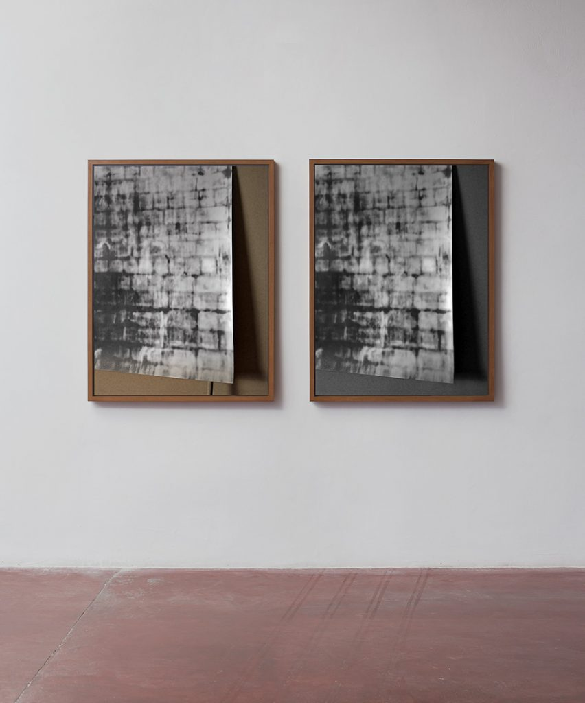 Moshe Ninio, Sight II, 2016, Inkjet print on archival paper, 120 x 91.2 x 5.3 cm each, edition of 2
