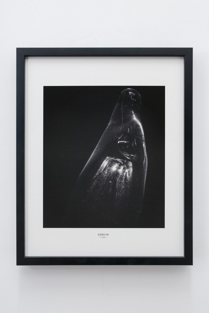 Melik Ohanian, Portrait of Duration — Cesium Series (T1004), 2015, Black and white photograph, 53 x 43 x 5cm (framed), 1/1 + 1 A¨P