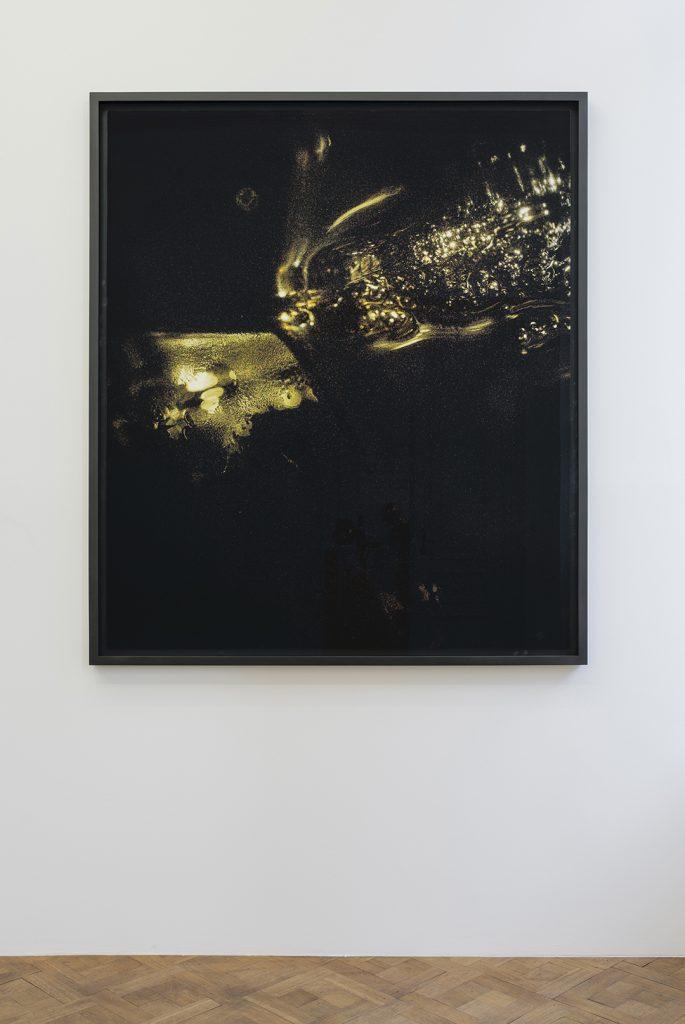 Melik Ohanian, Portrait of Duration — Cesium Series II T1902, 2016, Color photograph mounted on aluminium,  173 x 150 x 5cm (framed), 1/1 + 1 AP
