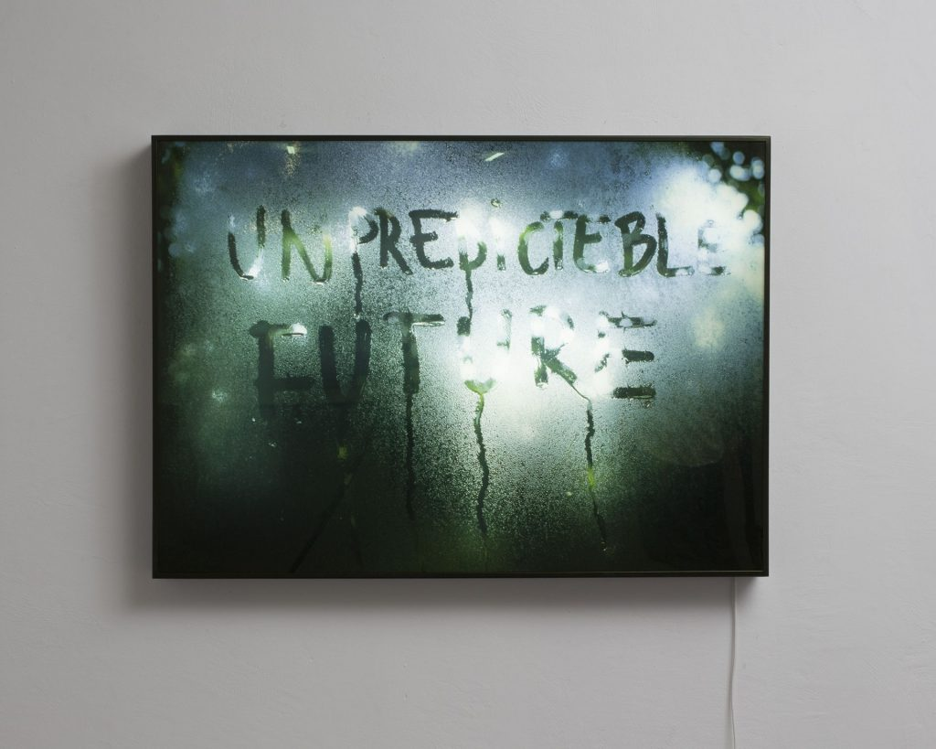 Mircea Cantor, Unpredictable Future, 2015, Lightbox, 70 x 100 cm, edition of 7