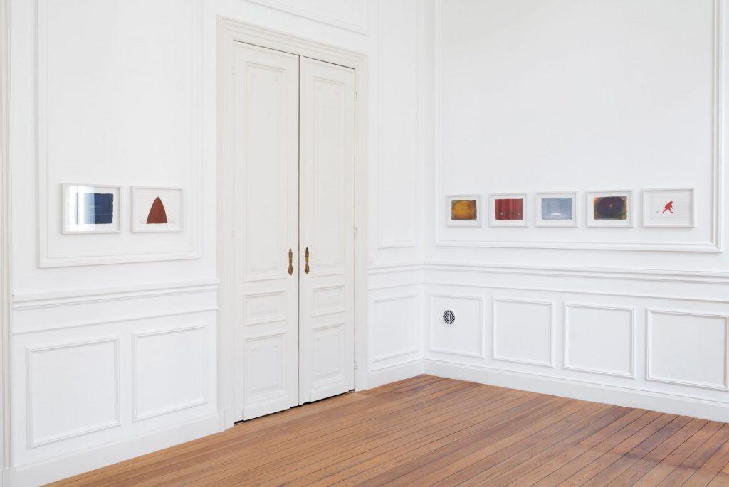 Nedko Solakov, Color Stories, 2017, exhibition view, Dvir Gallery, Tel Aviv