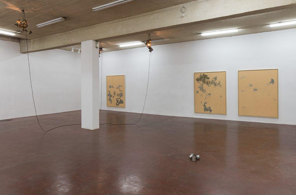 Latifa Echakhch, Nude, 2017, Exhibition view