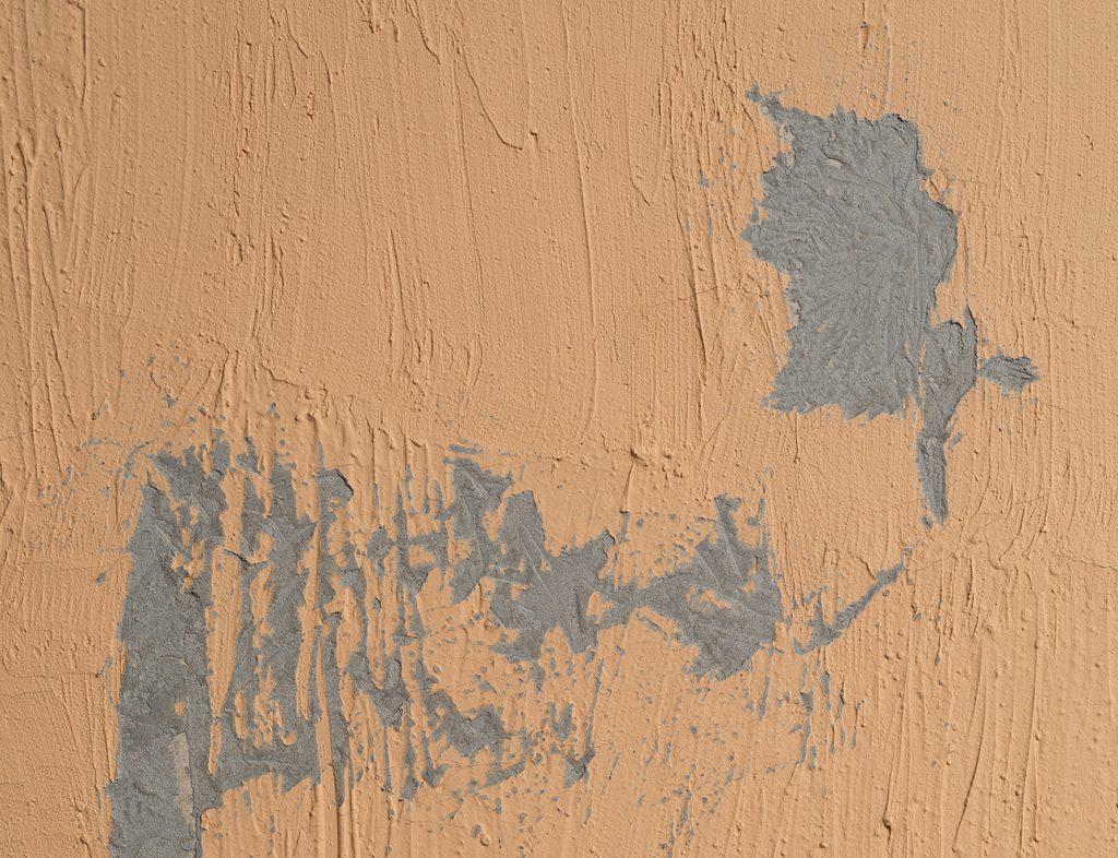 Latifa Echakhch, Nude, 2017, concrete, acrylic paint, 200x150x3cm, Unique (detail)