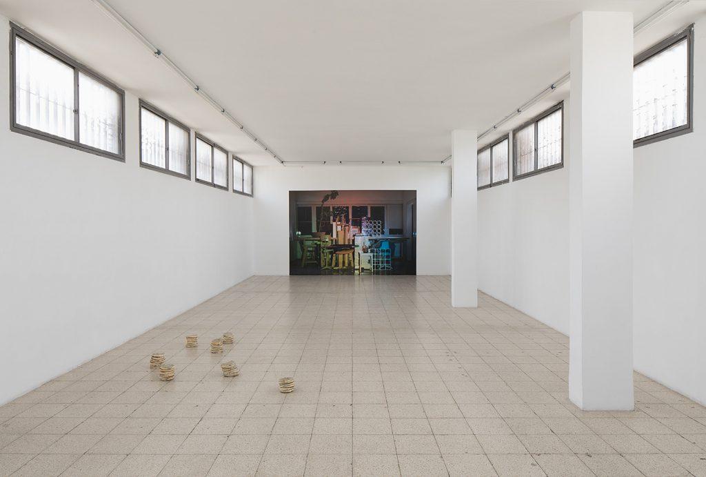 Latifa Echakhch and David Maljkovic, 2017, exhibition view
