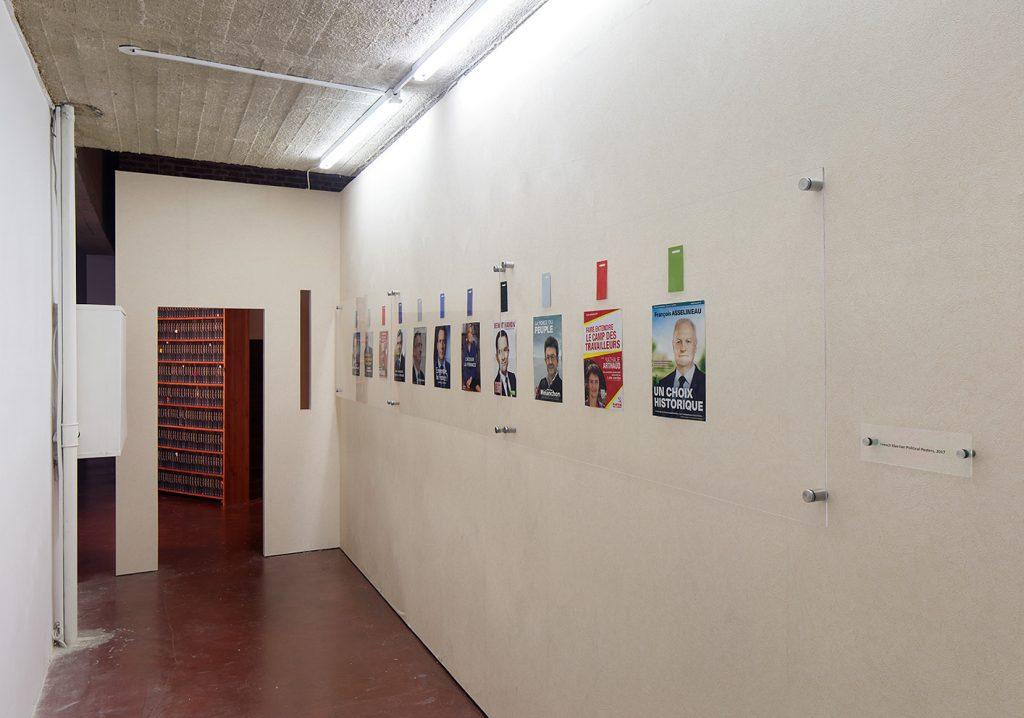 Simon Fujiwara, Hope House, 2017 (exhibition view) The Secret Annex (detail)
