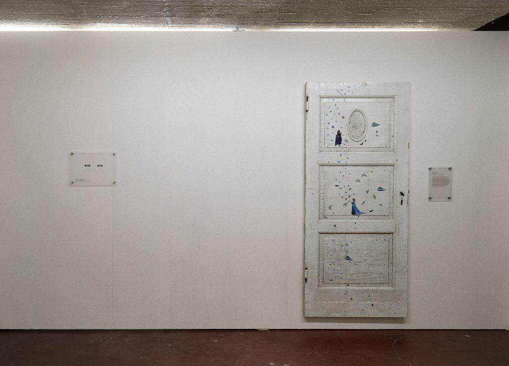 Simon Fujiwara, Frozen, 2017, Reclaimed Children s bedroom door