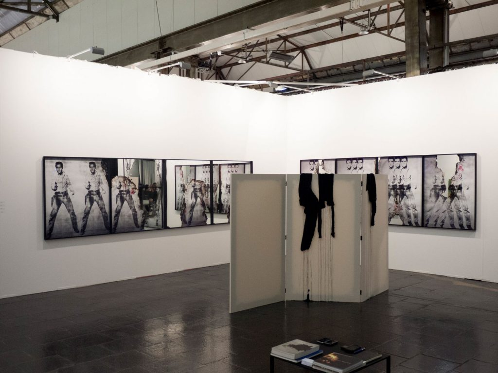 Art Düsseldorf, 2017, Booth view