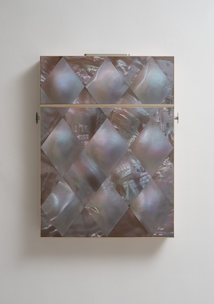 Adi Fluman, 2017, 74 x 91 x 12 cm, inkjet print on paper, maple wood, aluminum, unique