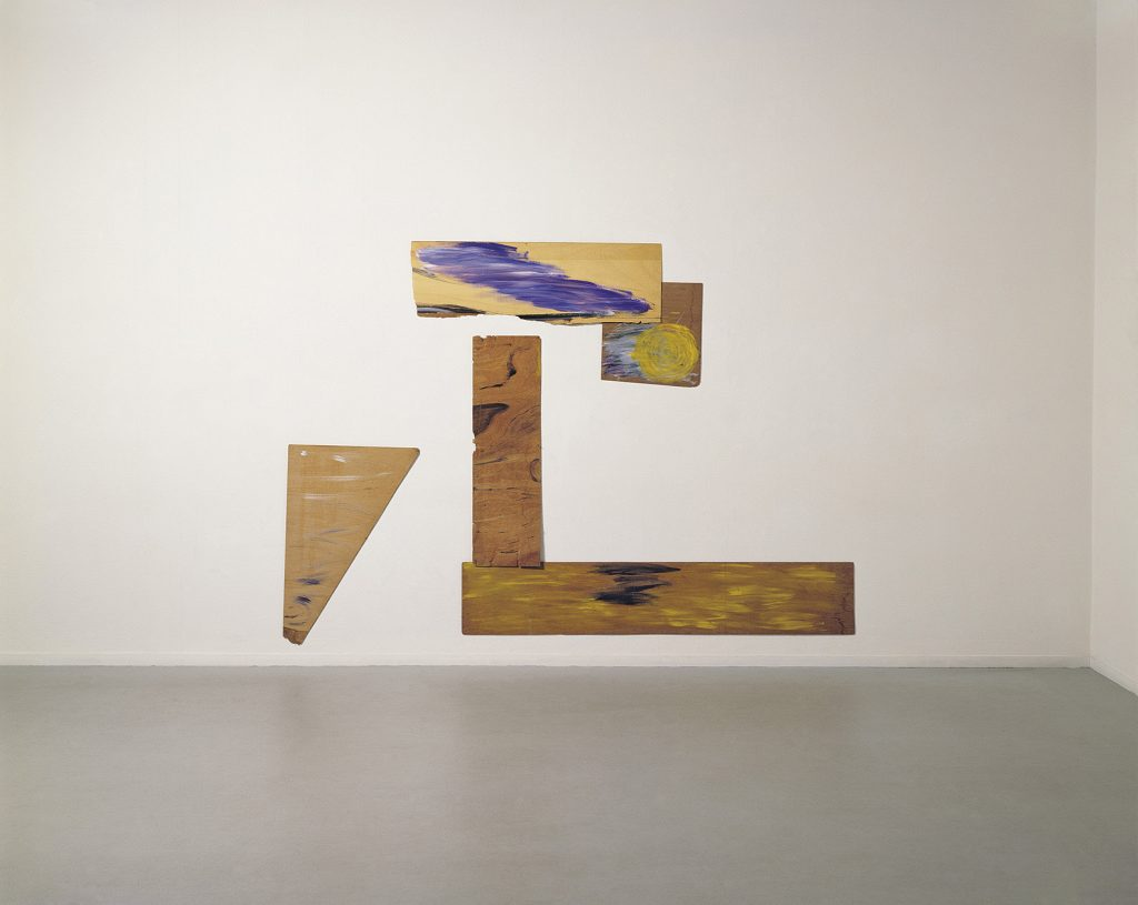 Yudith Levin, Summer of ' 56, 1984, 215 x 305 cm, acrylic on plywood, unique