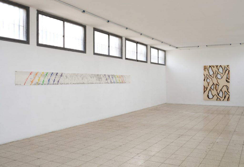 Group show, 2018, exhibition view, Dvir Gallery, Tel Aviv