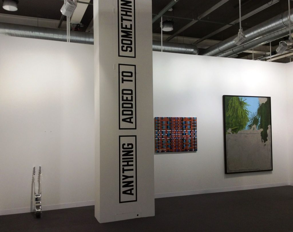 Art Basel, 2018, Booth view