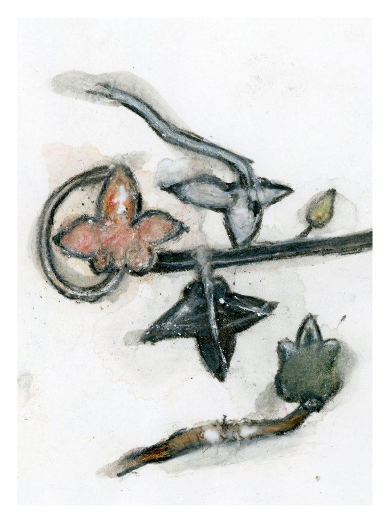 Noa Zait, Vile Lust and Shameful Blasphemy V, 2016-2018, inkjet prints, glue, masking tape, 76 x 103 cm, edition of 3 + 1 AP
