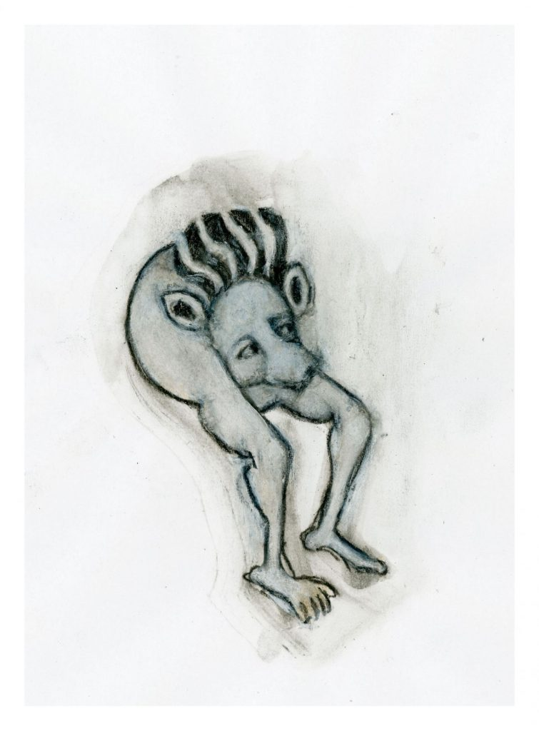 Noa Zait, Vile lust and shameful blasphemy II, 2018, 118 x 87 cm, edition of 3 + 1 AP