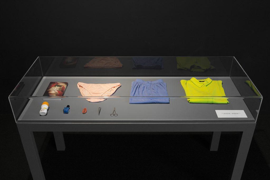 Shai-Lee Horodi, Nine stolen items, 2015, 2'' video, items, unique
