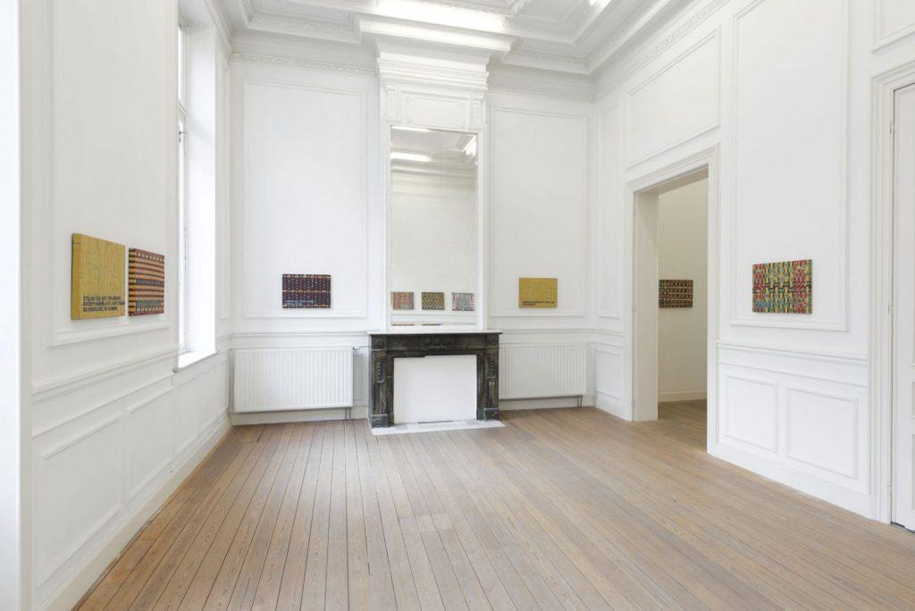 Un coeur simple, 2019, exhibition view, Dvir Gallery, Brussels