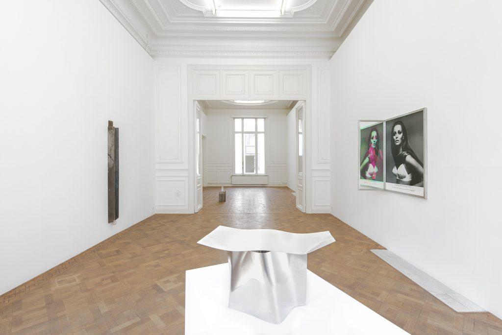 Step 13, 2019, exhibition view, Dvir gallery, Brussels