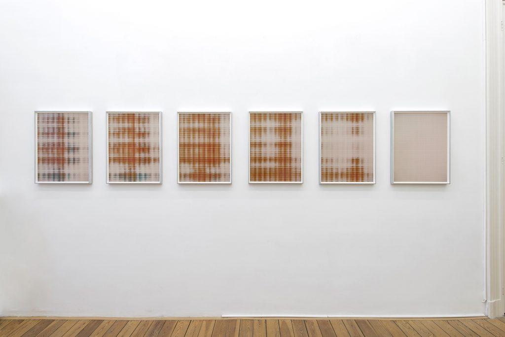 Matan Mittwoch, Step 13 (I-XV), 2016, inkjet prints on baryte paper, 67.2 x 51.2 cm (each), edition of 3 + 2 AP