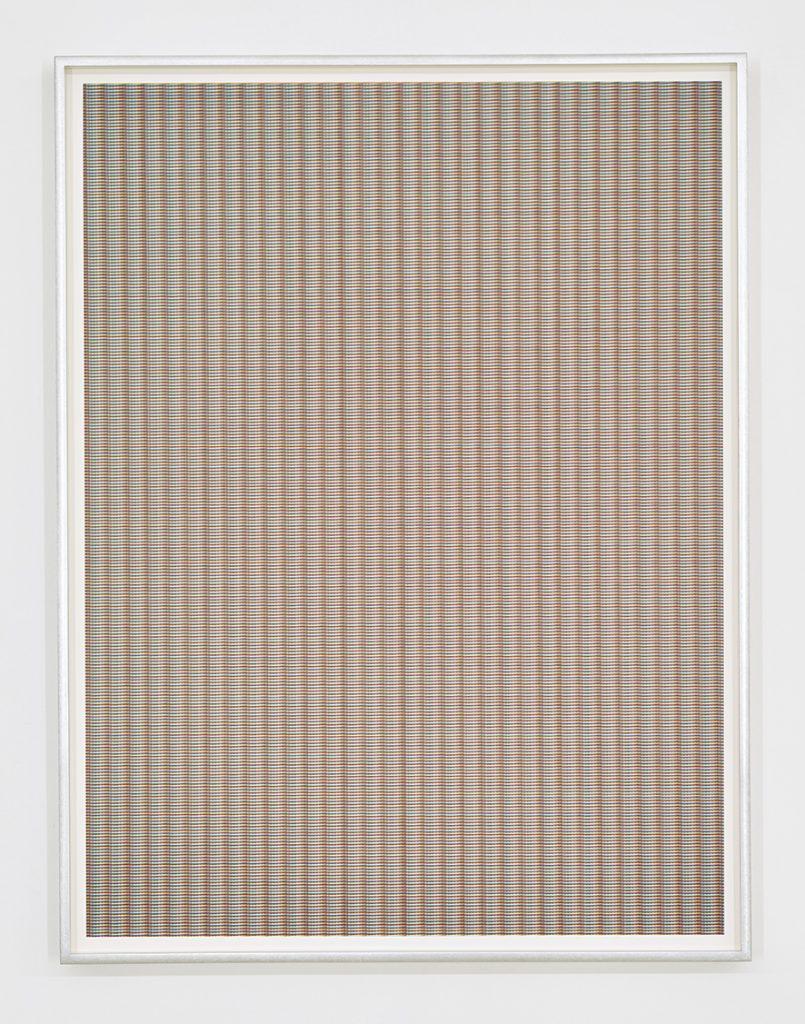 Matan Mittwoch, Step-13 [II], 2016, 67.2x51.2cm, inkjet-print on Baryte paper, framed