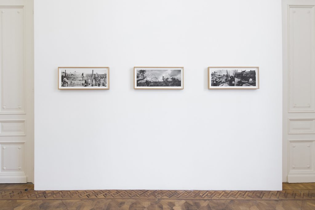 Pavel Wolberg, exhibition view, Step 13, 2019