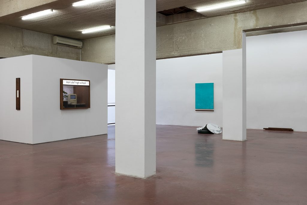 Yan Xing, As The Soldiers Went Home, The Gallery Caught Fire, exhibition view, 2019, Dvir Gallery Tel Aviv (3)