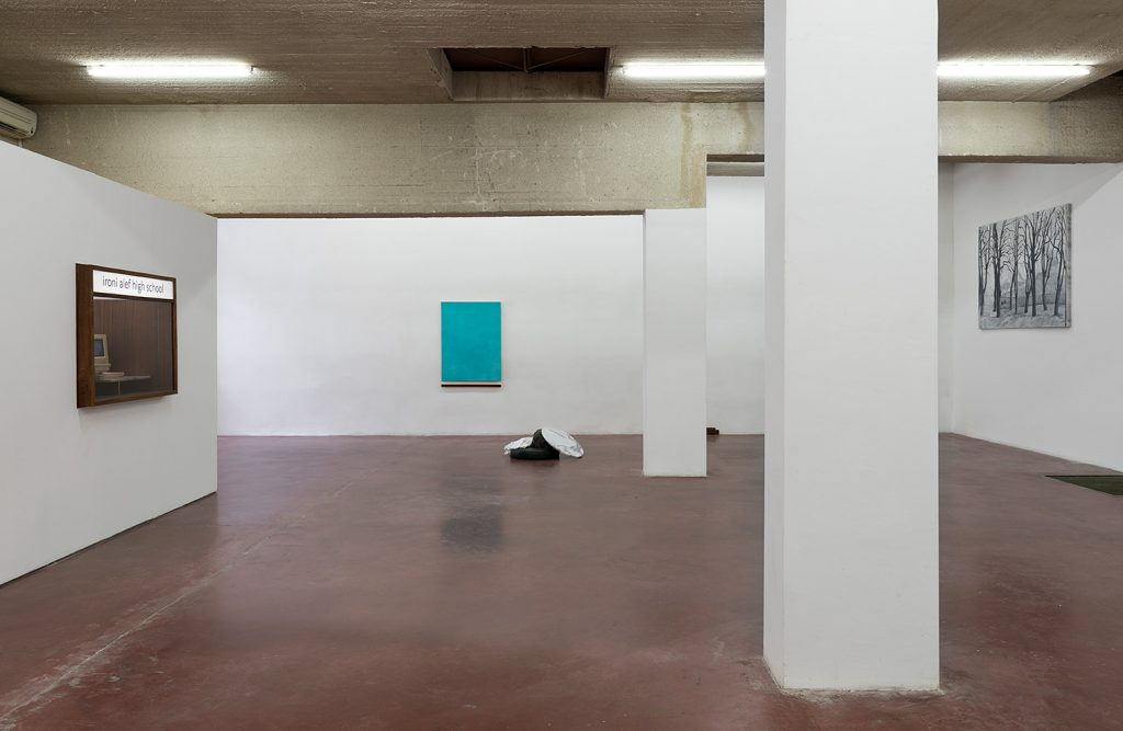 Yan Xing, As The Soldiers Went Home, The Gallery Caught Fire, exhibition view, 2019, Dvir Gallery Tel Aviv