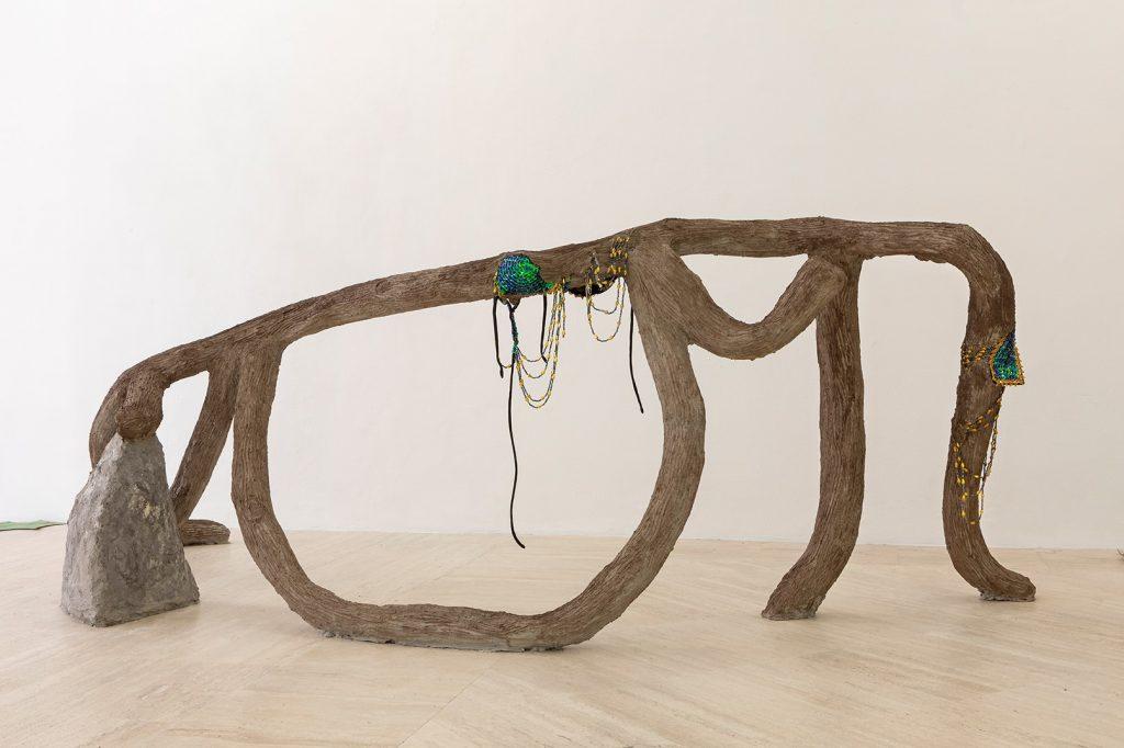 Latifa Echakhch, installation view, Fondazione Memmo, Rome, 2019