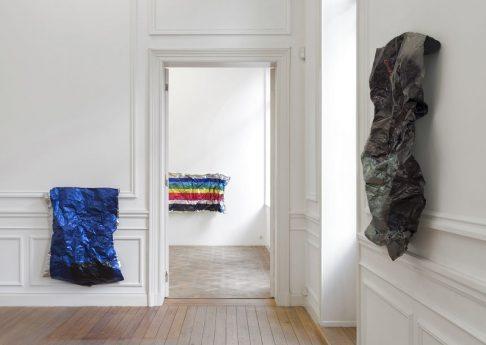 exhibition view, 'In the List of Works', 2019, Dvir Gallery, Brussels